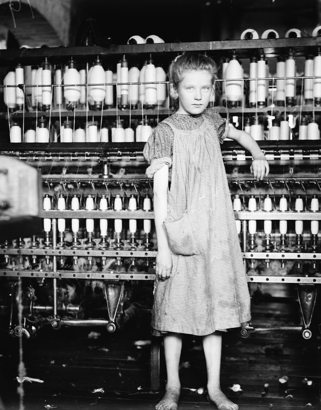 working conditions for child labor in the industrial revolution